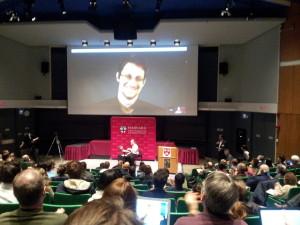 Edward Snowden and <a href=
